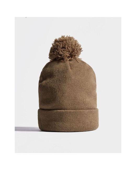 756439f2e71 ... Adidas Originals - Brown Logo Pom Beanie for Men - Lyst