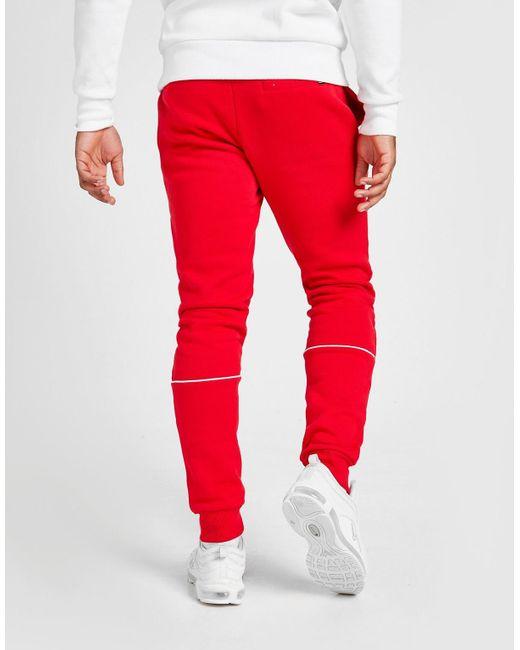 Ellesse Red Roach Fleece Joggers for men
