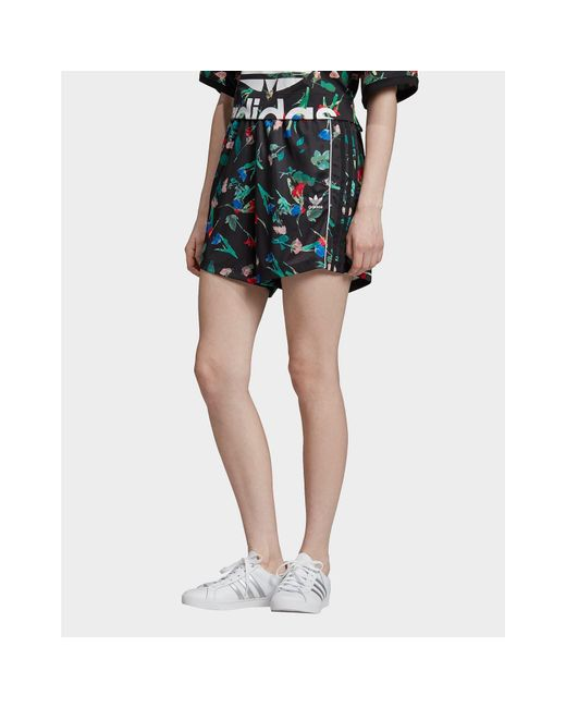 Adidas Originals Multicolor Floral Allover Print Shorts