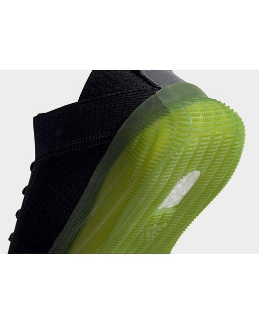 adidas Originals Rubber Pureboost Trainer Shoes in Black for