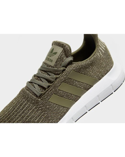 3aa5252fb ... Adidas Originals - Green Swift Run for Men - Lyst ...