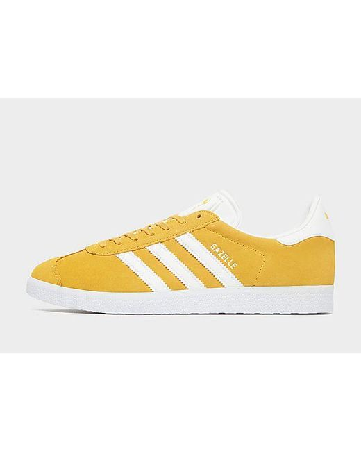 Chaussure Gazelle Adidas Originals pour homme en coloris Yellow