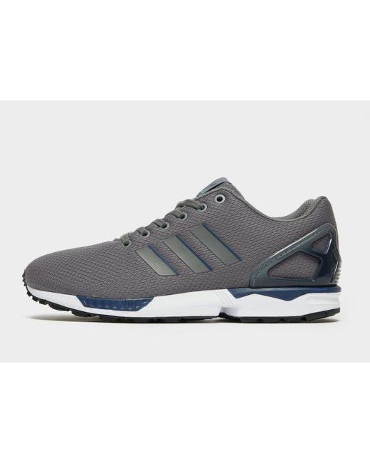 Adidas Originals Gray Zx Flux Fade for men