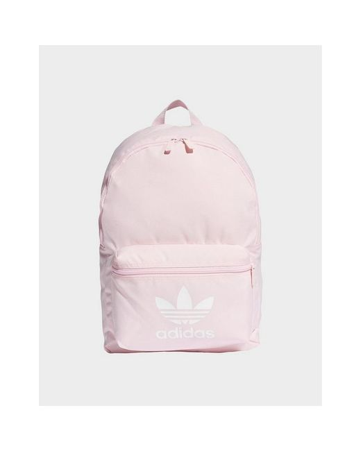 adidas Originals Synthetic Adicolor Classic Backpack in Pink