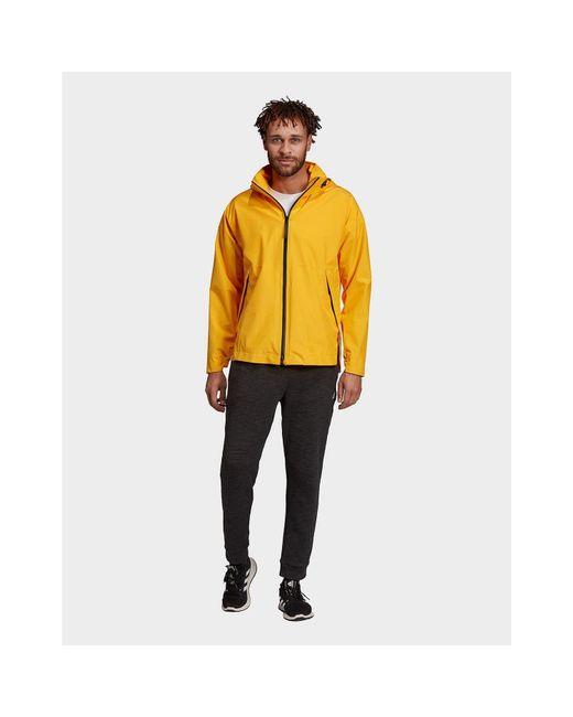 Men's Yellow Urban Climaproof Rain Jacket