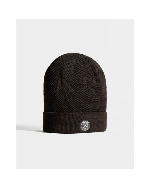 6455ed45d72a3 ... Nike - Black X Paris Saint Germain Beanie Hat for Men - Lyst ...