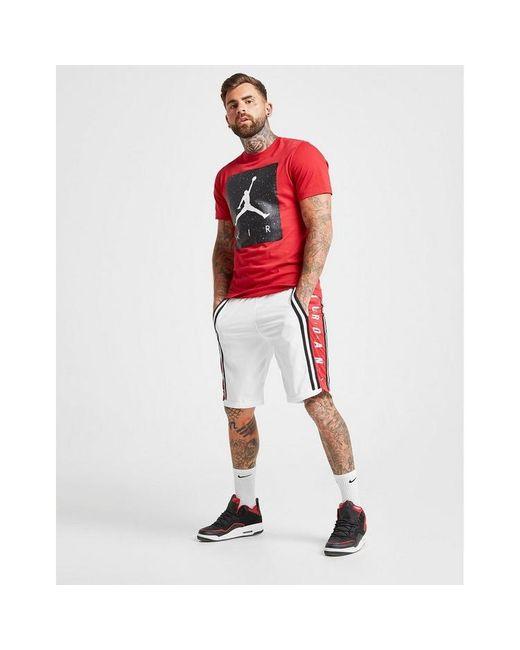 Nike Red Hybrid Shorts for men