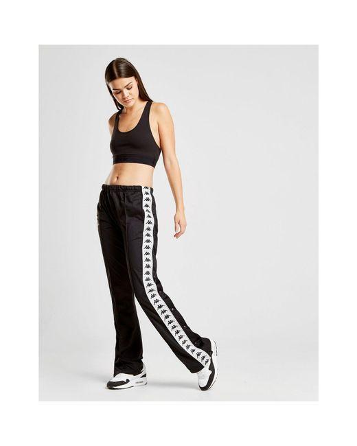 edd9c50d30d2 Lyst - Kappa Banda Popper Pants in Black - Save 34%