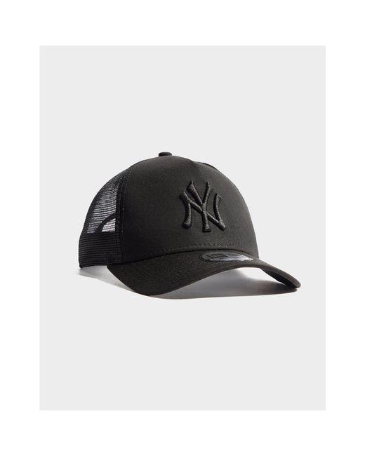 233955637b9 ... KTZ - Black Mlb New York Yankees Snapback Trucker Cap - Lyst ...