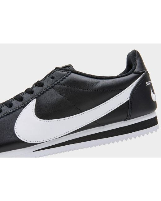 timeless design a8db0 8dc58 ... Nike - Black Classic Cortez Premium Sneaker for Men - Lyst ...