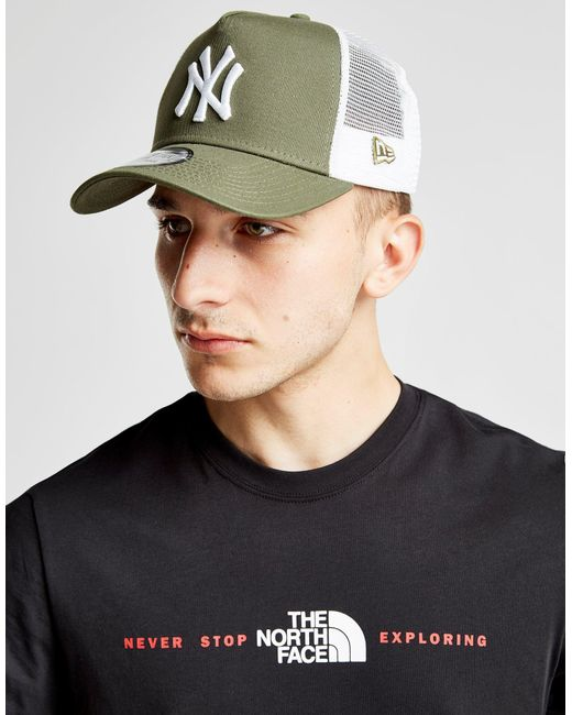 KTZ - White Mlb New York Yankees Snapback Trucker Cap - Lyst