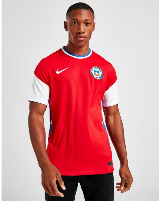 Nike Red Chile 2020 Home Shirt for men