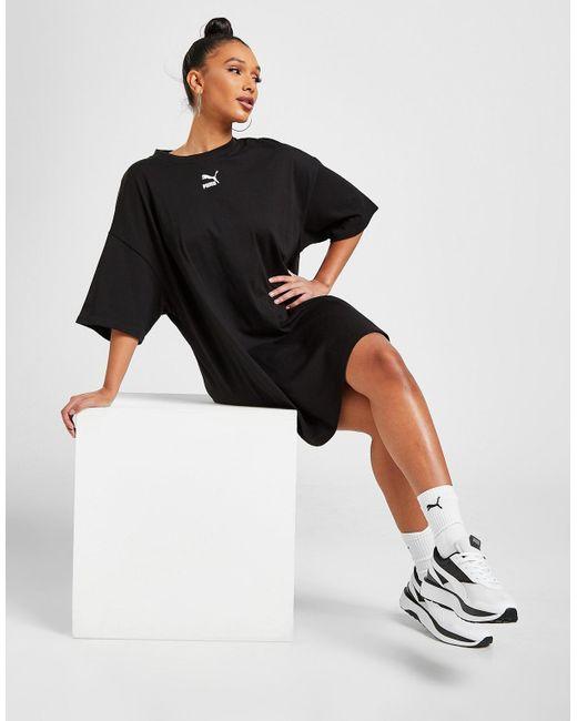 PUMA Black Classic T-shirt Dress