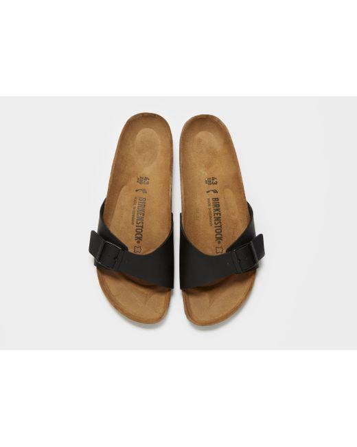 51217e5c44f ... Birkenstock - Brown Madrid Sandals for Men - Lyst ...