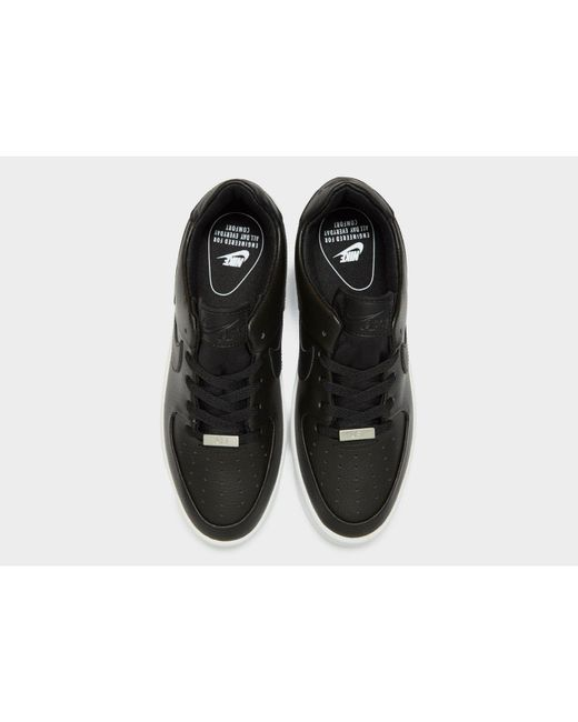 buy online c24e7 b7a09 ... Lyst Nike - Black Womens Air Force 1 Sage Low ...