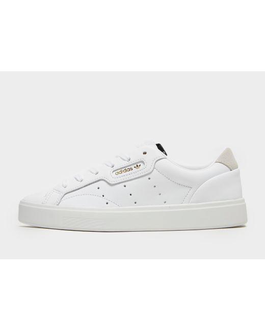 Adidas Originals White Sleek