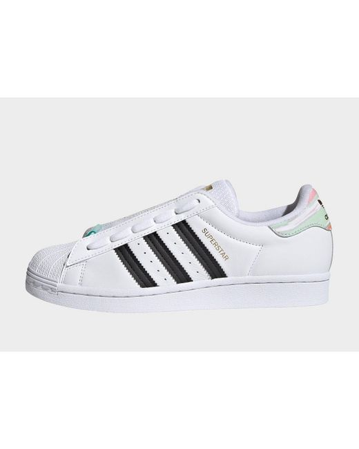 Adidas Originals White Superstar Shoes