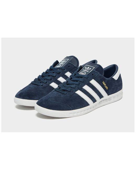 Chaussure Hamburg adidas Originals pour homme en coloris Bleu - Lyst
