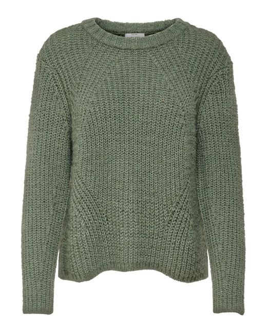 ONLY Green Pullover Strickpullover Onlfiona