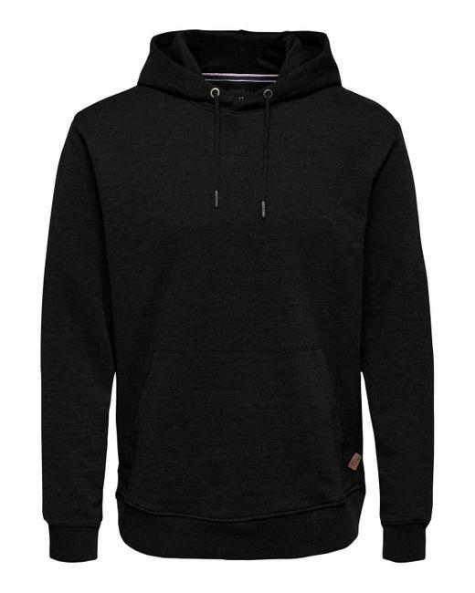 Only & Sons Sweater ONSWINSTON SWEAT HOODIE in Black für Herren