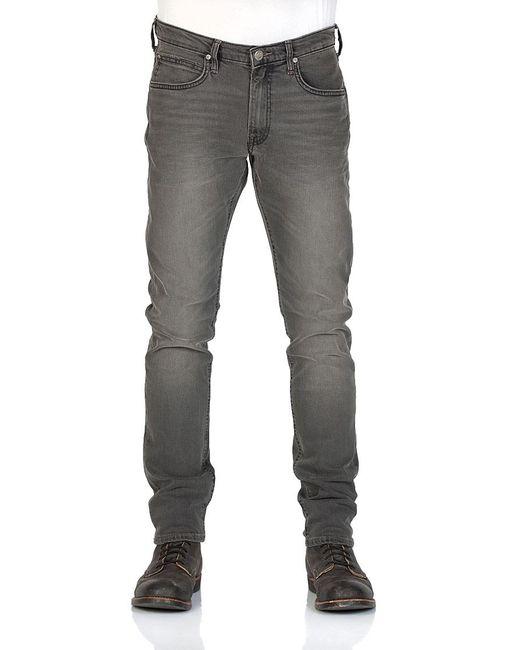 Lee Jeans Luke Slim Tapered L719JBQF Jeans Hosen in Gray für Herren