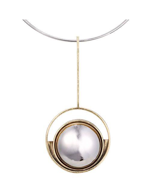 Jenny Bird | Metallic Risen Collar | Lyst