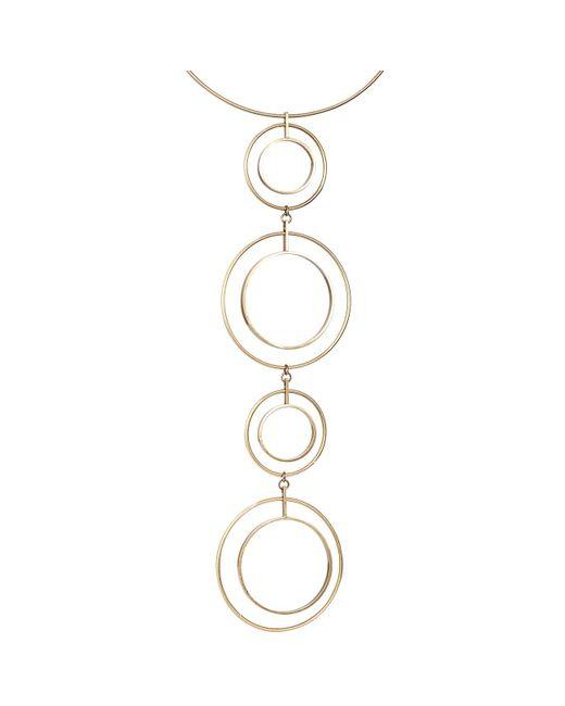 Jenny Bird   Metallic Boomerang Collar   Lyst