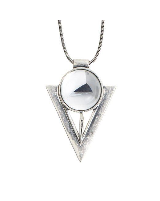 Jenny Bird - Metallic Bowie Pendant - Lyst
