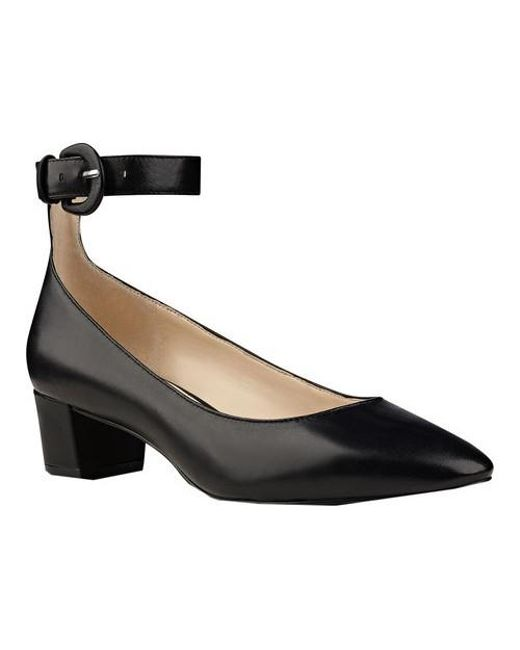 Nine West - Black Women's Brianyah Ankle Strap Heel - Lyst