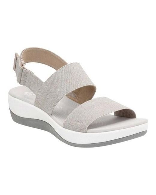 0d5602249a526a Clarks - Multicolor Women s Arla Jacory Flat Sandals - Lyst