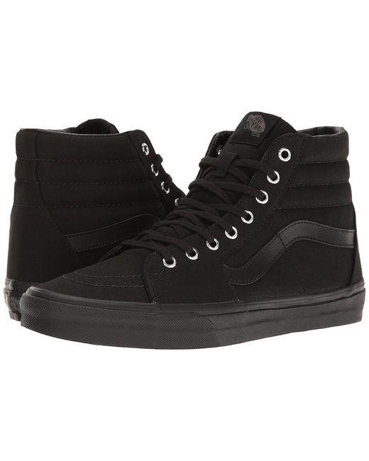 Vans   Black Unisex Sneakers Sk8-hi (mono) Vn0a38gemx5   Lyst