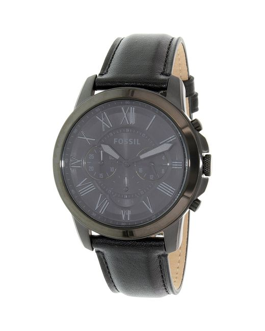 Fossil | Grant Fs5132 Black Dial Watch for Men | Lyst