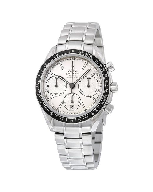 Omega - Metallic Speedmaster Racing Automatic Chronograph Dial Stainless Steel Watch 32630405002001 for Men - Lyst