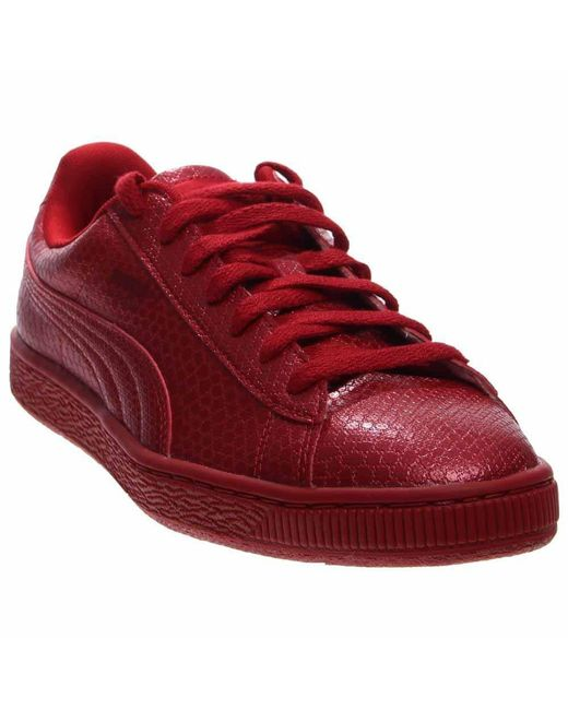 PUMA - Pink Basket Future Minimal Casual Shoes - Lyst