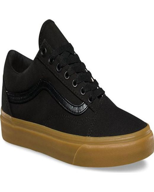 0a44e6ecfc77cf Lyst - Vans Unisex Old Skool Sneaker in Black for Men