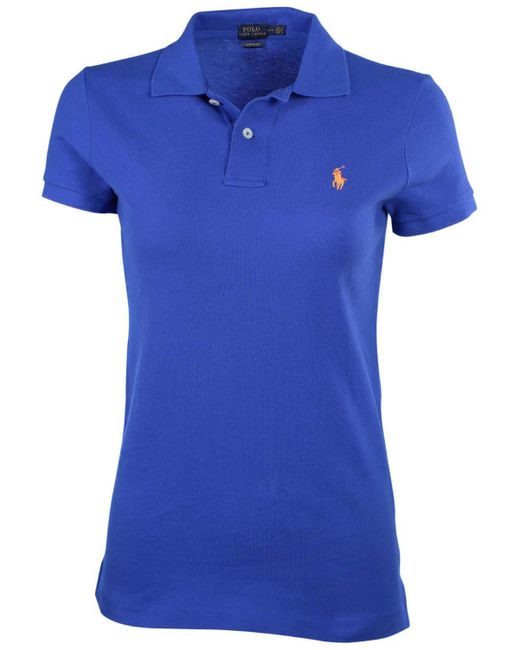 Polo Ralph Lauren - Blue Classic Fit Mesh Pony Shirt--small - Lyst