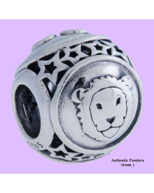Pandora | Metallic Sterling Silver Leo Star Sign Ladies Charm 791940 | Lyst