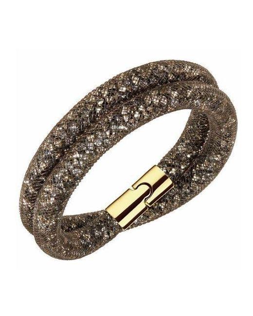 Swarovski | Stardust Brown Double Bracelet | Lyst