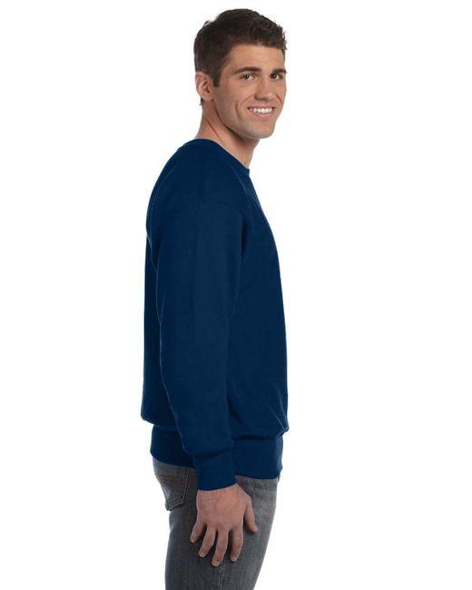 4ff4b61de4e8 ... Champion - Blue 12 Oz 8218 Reverse Weave Crew Sweatshirt S1049s149 Team  Navy M for Men