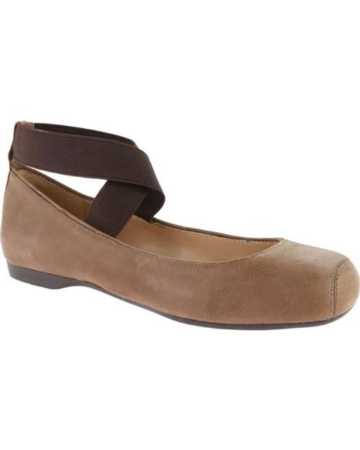 Jessica Simpson | Brown Mandalaye Ballet Flat | Lyst