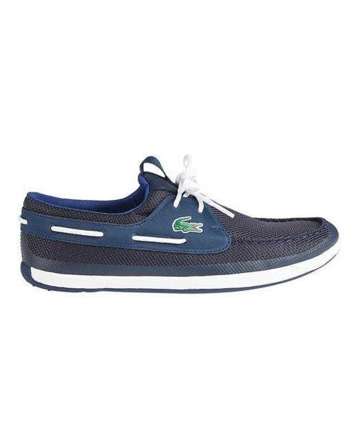 Lacoste | Blue L.andsailing Boat Shoe for Men | Lyst