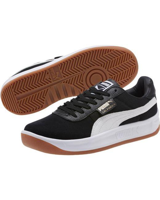 PUMA - Black California Casual Unisex Sneakers for Men - Lyst