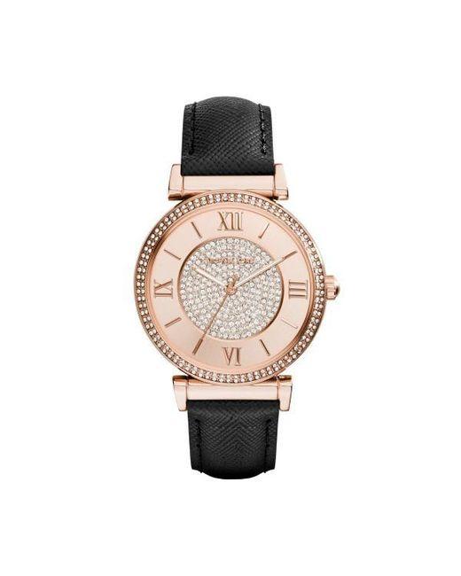36e645431cc7 Michael Kors - Black Mk2376 Caitlin Watch - Lyst ...