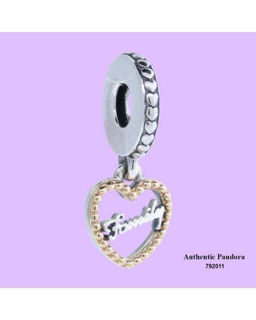 Pandora - Purple Loving Family Charm - Lyst