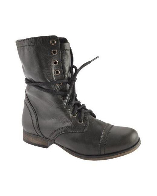 Steve Madden - Black Troopa Boot - Lyst