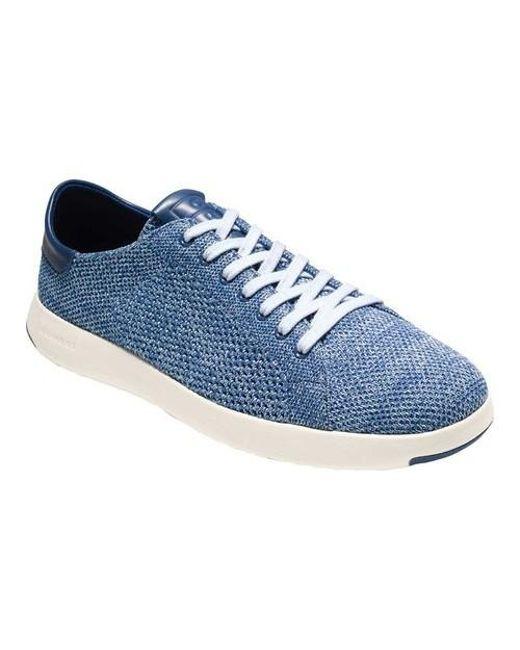 Cole Haan - Blue Grandpro Tennis Stitchlite Sneaker for Men - Lyst