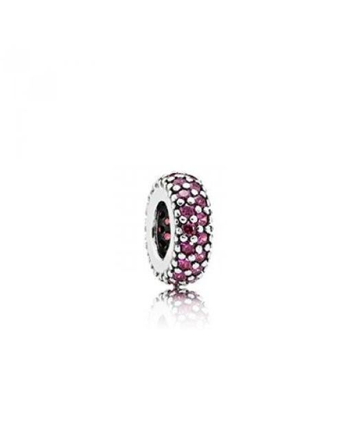 Pandora | Multicolor Sterling Silver Inspiration Charms Within With Red Cubic Zirconia 791... | Lyst