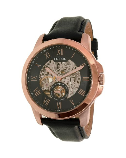 Fossil | Multicolor Me3054 Grant Leather Watch for Men | Lyst