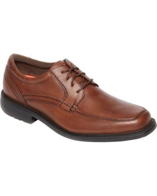 Rockport - Brown Men's Style Leader 2 Apron-toe Oxfords for Men - Lyst