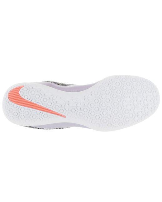 ... Nike   Mercurialx Pro Ic Urban Lilac/black/bright Mango Indoor Soccer  Shoe 10.5